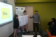 First presentations of students' work